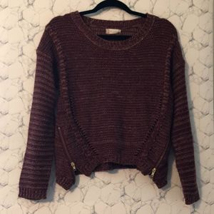 Altar'd State Zip Side Sweater